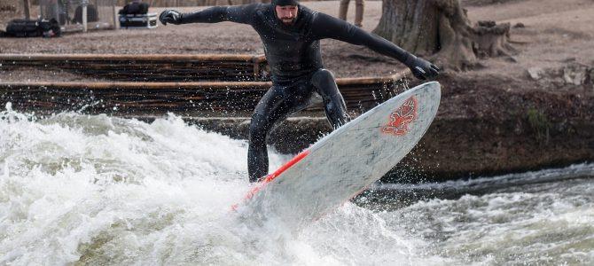 第36話 【Surf Tripに行きたくなる動画】 River surf at Munich!!