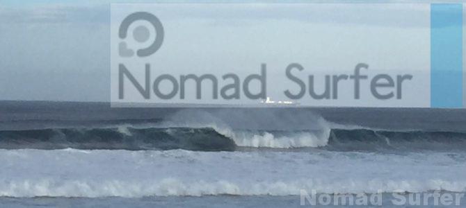 台風うねりでサーフィン、再び!