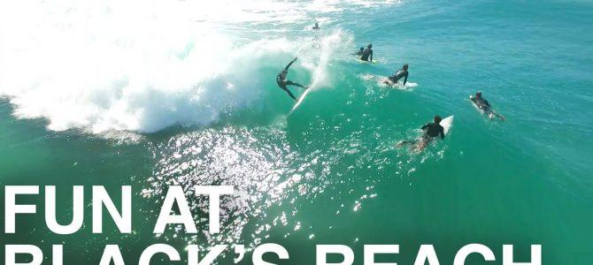 第51話 Californiaで1番のBeach Break・Blacks Beach!!